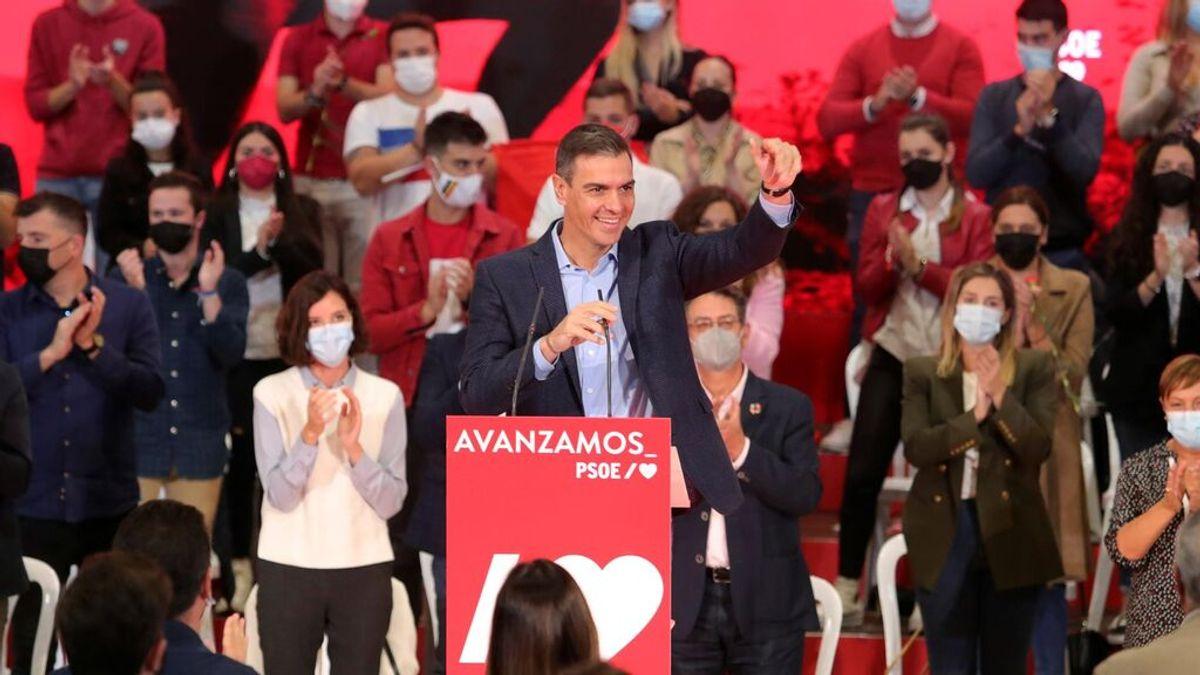 """Sánchez escribe a los militantes del PSOE: """"Estamos más fuertes y unidos que nunca"""""""