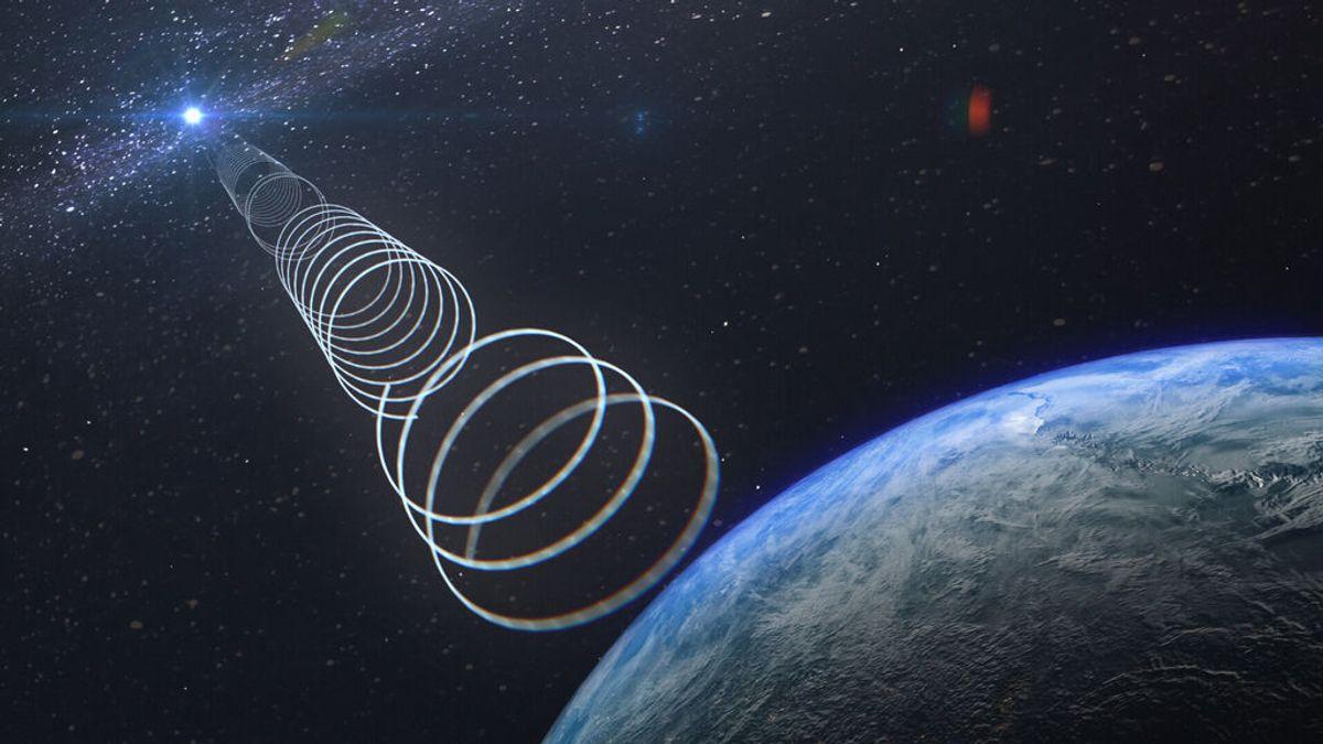 Desconcierto por una extrañas ondas de radio que emergen del corazón de la Vía Láctea