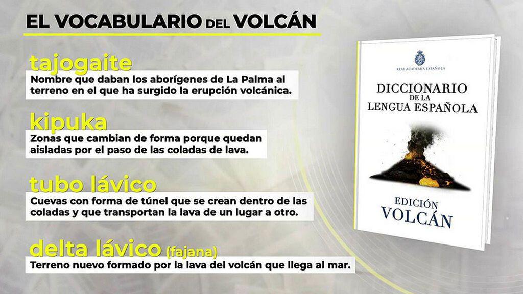 El vocabulario del volcán: su auténtico nombre y otros términos que explican su comportamiento