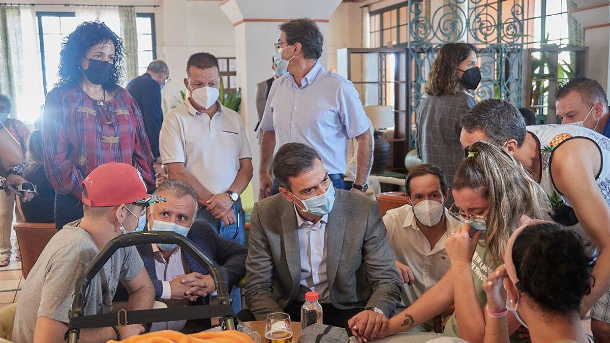 Pedro Sánchez vuelve hoy a La Palma