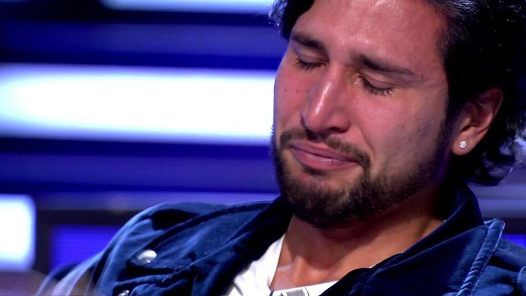 """Gianmarco Onestini se derrumba en directo al recordar a su abuela: """"Cuando se van dejan un vacío enorme"""""""