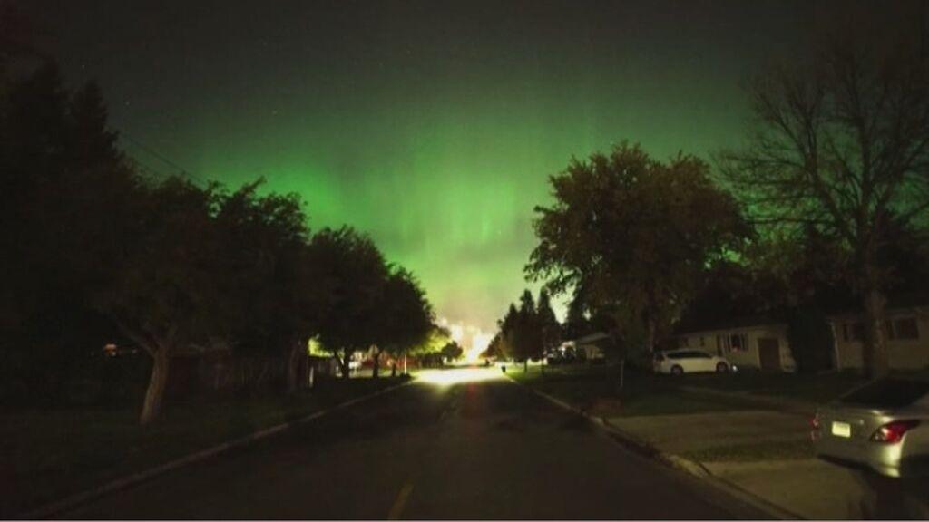 Las primeras auroras boreales de la temporada iluminan el cielo de Estados Unidos