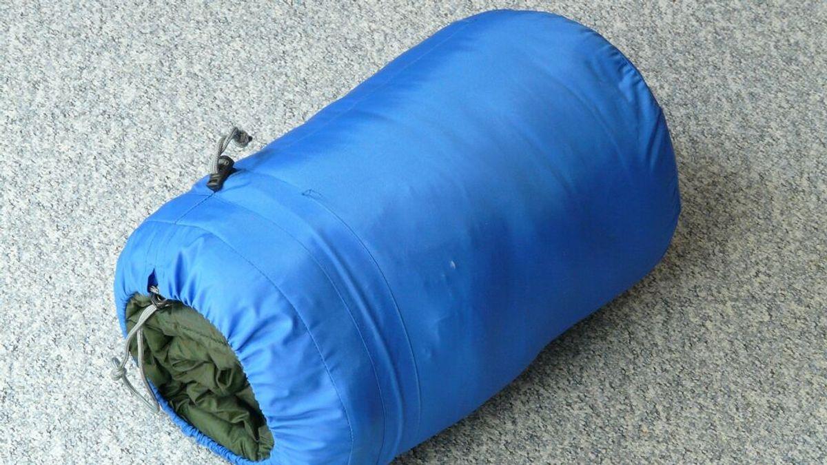 Cómo lavar un saco de dormir