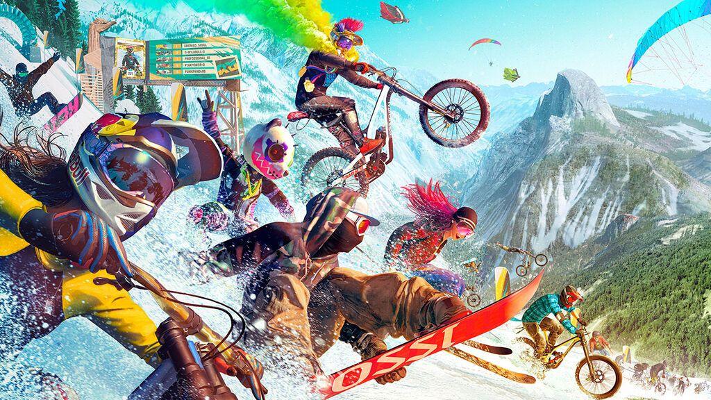 Riders Republic: tráiler del mundo