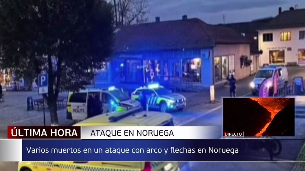 Un hombre mata y hiere a varias personas en Noruega haciendo uso de un arco y flechas