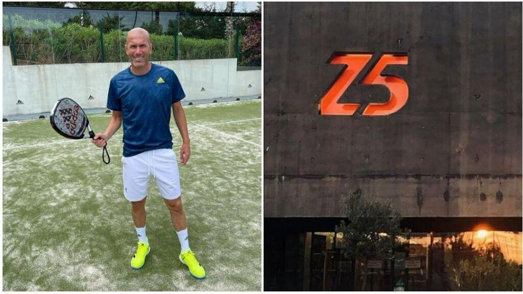 Zidane abre un nuevo negocio tras su salida del fútbol: se adentra en el pádel junto a una empresa española