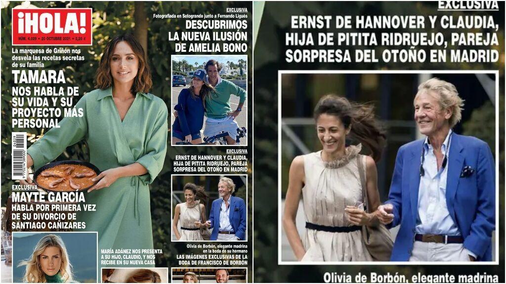 Ernesto de Hannover tiene nueva novia: Claudia, la hija de Pitita Ridruejo