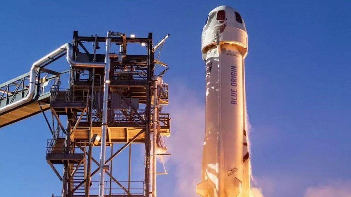 En directo: el lanzamiento del Blue Origin