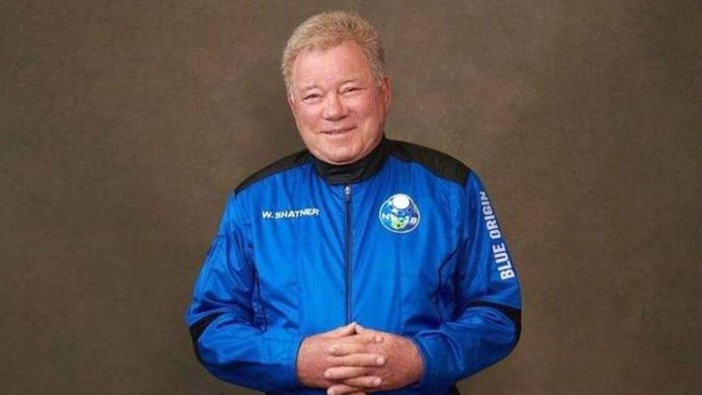 William Shatner, el capitán Kirk de 'Star Trek', volará de verdad al espacio