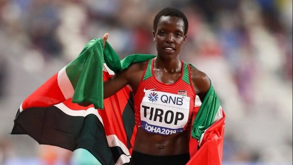 Muere asesinada a puñaladas la atleta keniana Agnes Jebet Tirop