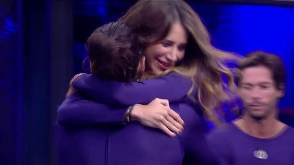La eufórica celebración de Cristina Porta y Luca Onestini al ser salvados: Emmy Russ y Canales Rivera cara a cara