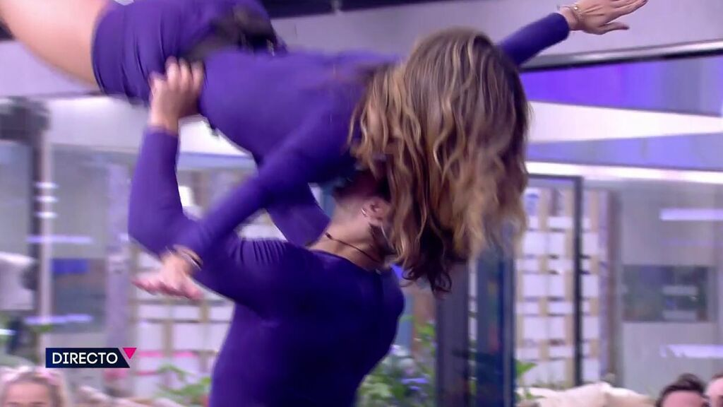 La audiencia vota a Cristina y Luca como la mejor pareja de baile