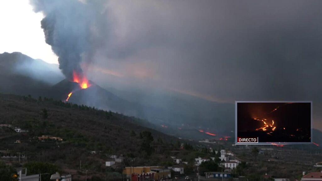 Aumenta la explosividad del volcán de La Palma que no pare tener fin