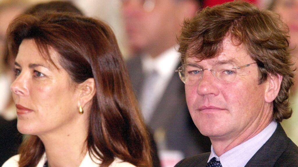Ernesto de Hannover y la princesa Carolina de Mónaco, en una foto de archivo