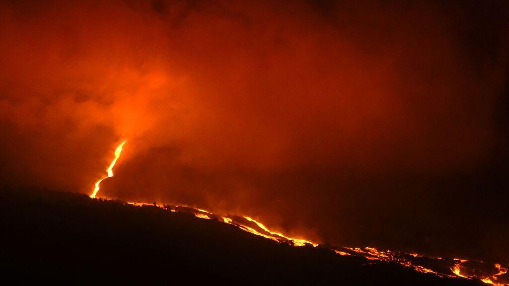 La deformación del terreno, clave para saber cuánta magma queda bajo tierra