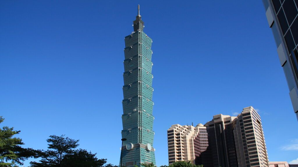 Taipei 101, en Taiwán.