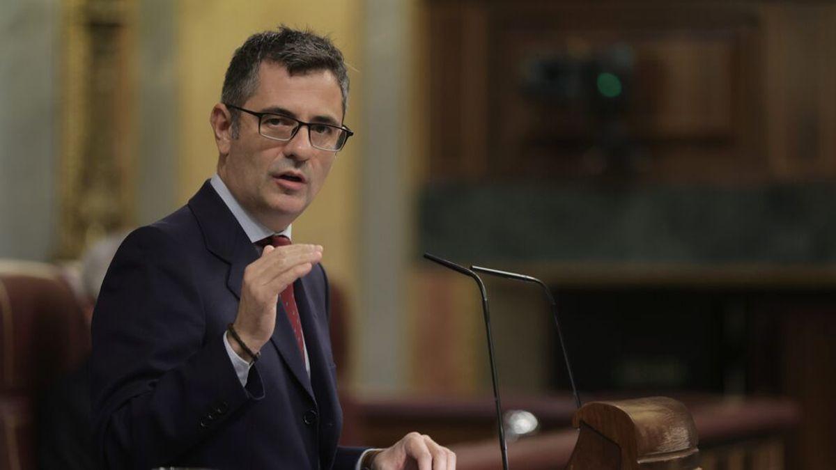 En directo: Bolaños valora el acuerdo entre el Gobierno y el PP para la renovación de las instituiciones