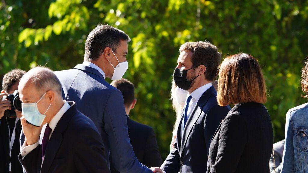 Bolaños y Egea tras el acuerdo de renovación de órganos institucionales