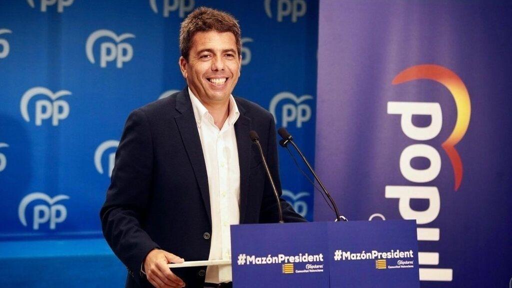 El presidente de Alicante, Carlos Mazón, entre los ocho que más cobran