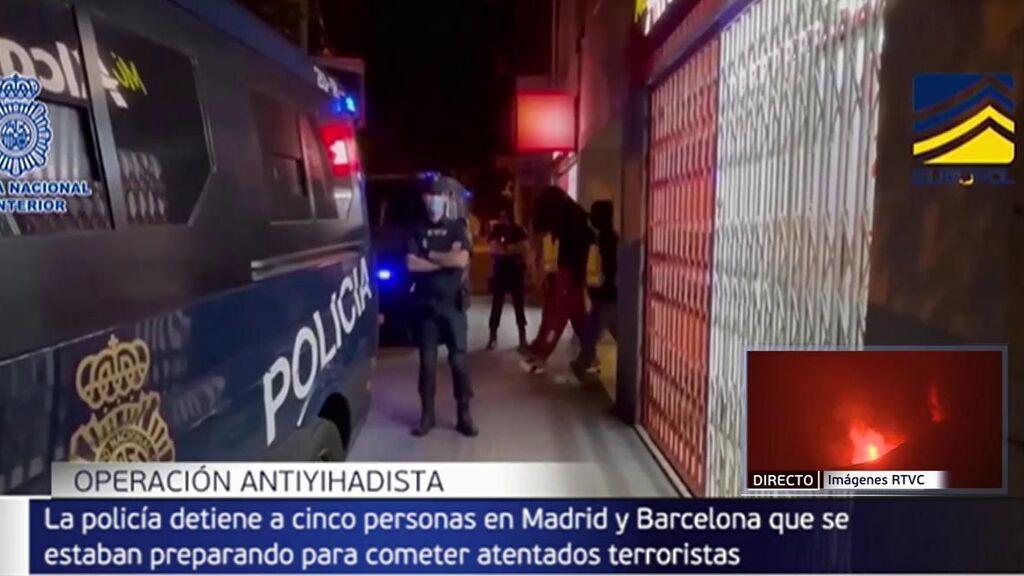 A prisión los cinco presuntos yihadistas que intentaron comprar un kalashnikov en Barcelona y Madrid