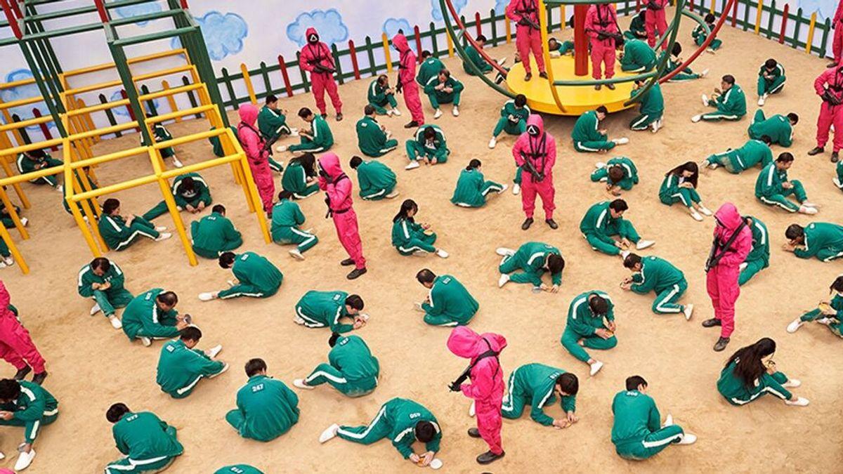 Preocupación en colegios de España por los alumnos que imitan 'El juego del calamar'