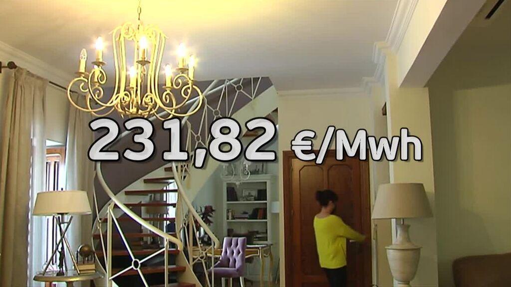 El precio de la luz sigue batiendo récords