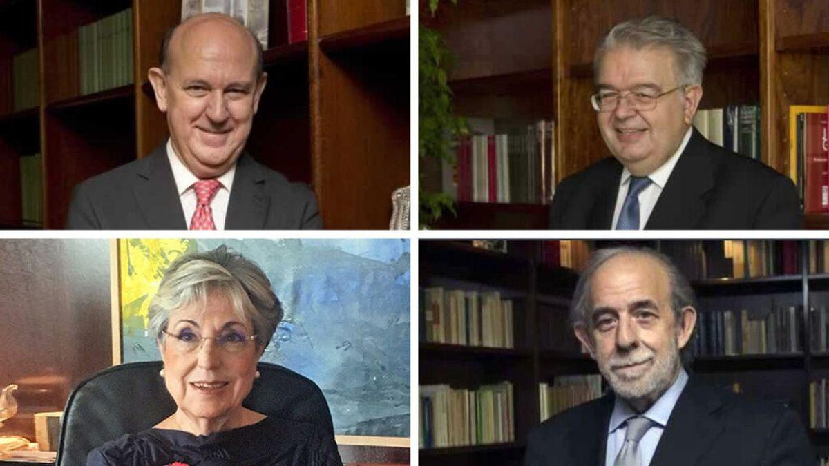 Dos magistrados conservadores y dos progresistas son los que se van a sustituir en el TC