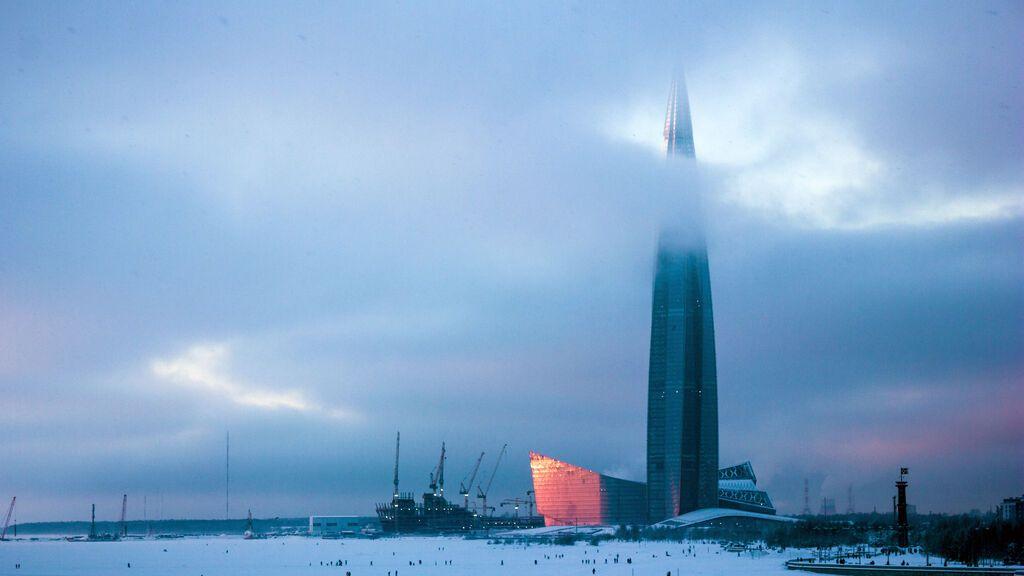 Kakhta Center, en Rusia.