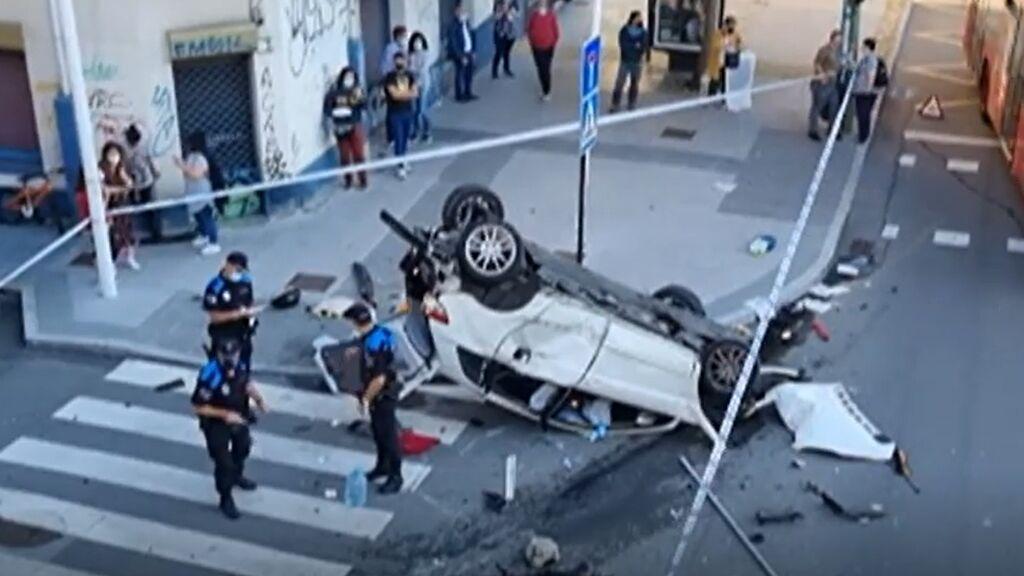 Accidente en A Coruña