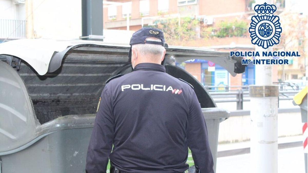 policia contenedor