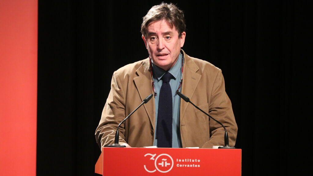 """García Montero: """"Desde el Instituto Cervantes nos interesa que se aprueben los Presupuestos Generales del Estado"""""""