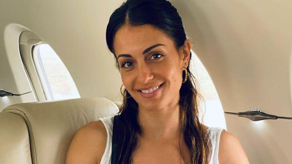 Hiba Abouk se pronuncia por primera vez sobre su segundo embarazo en redes