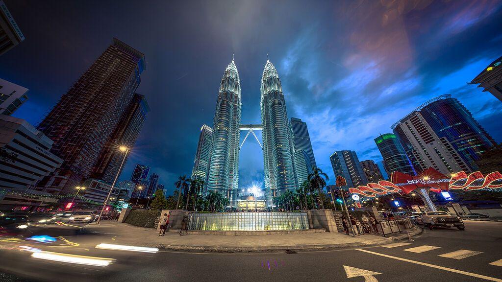 Torres Petronas, en Malasia.