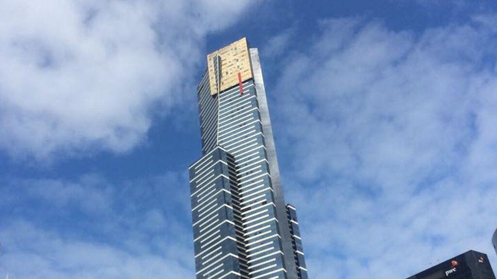 Eureka Tower, en Melbourne.