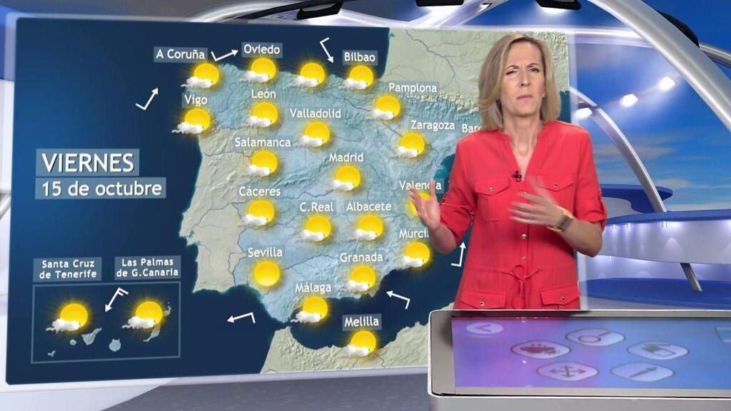 Hasta 10 grados más de lo habitual en España: este es el tiempo que hará el viernes