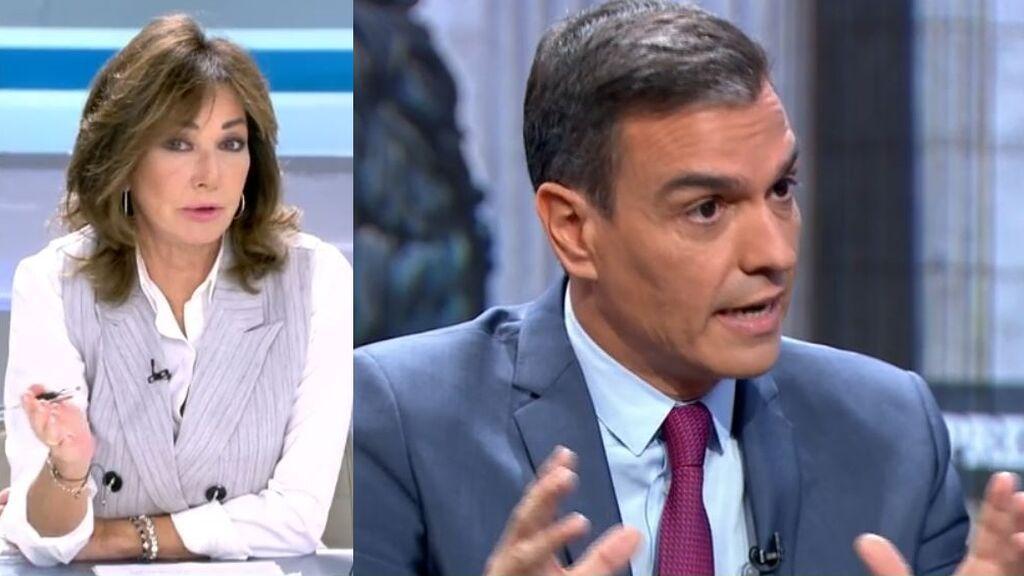 """La reflexión de Ana Rosa tras """"el cambio de piel"""" del PSOE"""