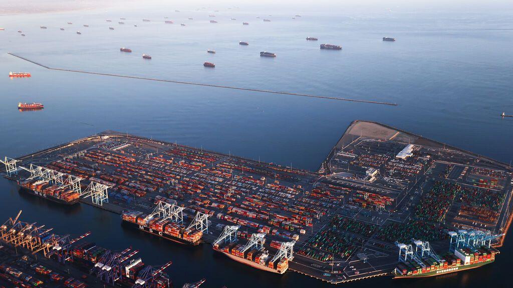 Los puertos comerciales más golpeados por los retrasos marítimos
