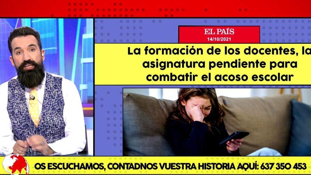"""Un niño se suicida cada cinco días en España: """"Esto es una vergüenza nacional"""""""