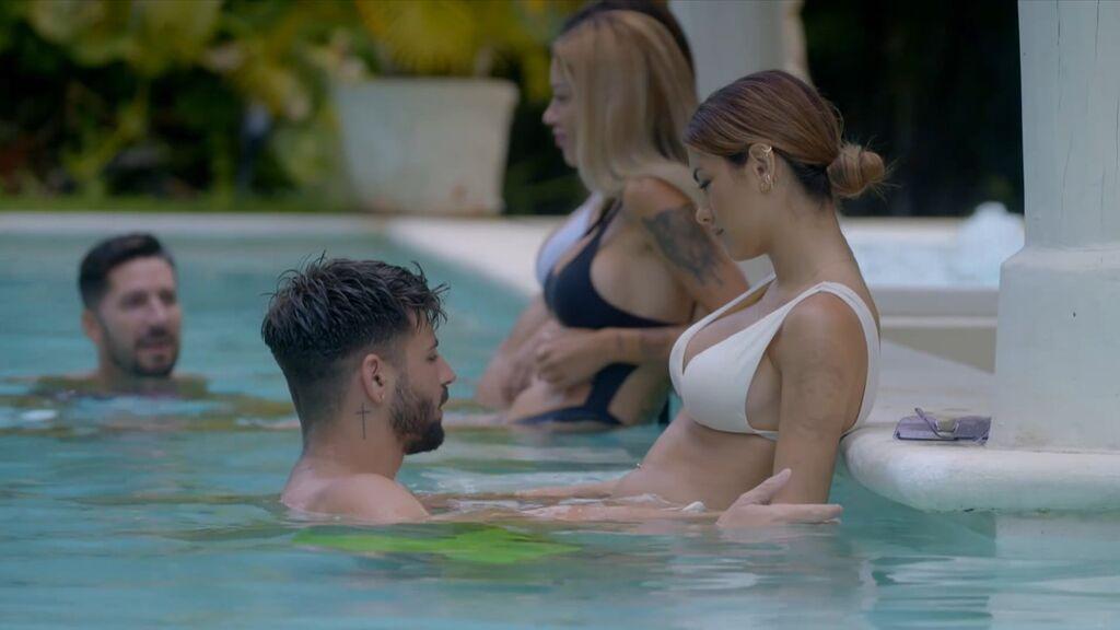 Isaac da la cara tras su infidelidad a Lucía, en 'El debate de las tentaciones', que avanzará la próxima hoguera de confrontación