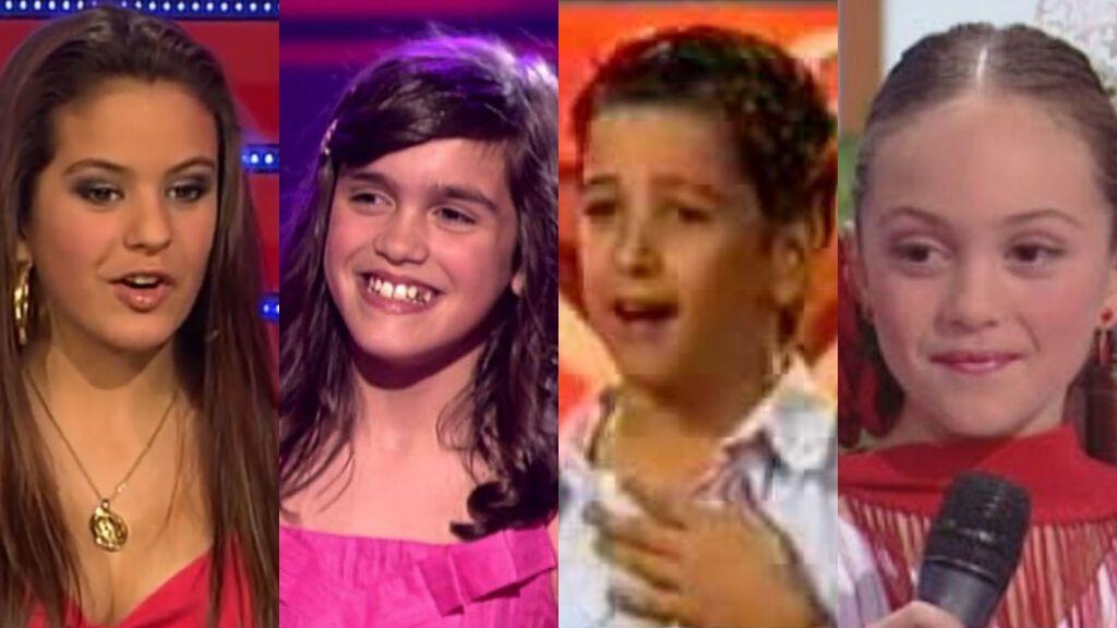 Las primeras actuaciones musicales de Rosalía, Amaia Romero, Camilo o Ana Mena
