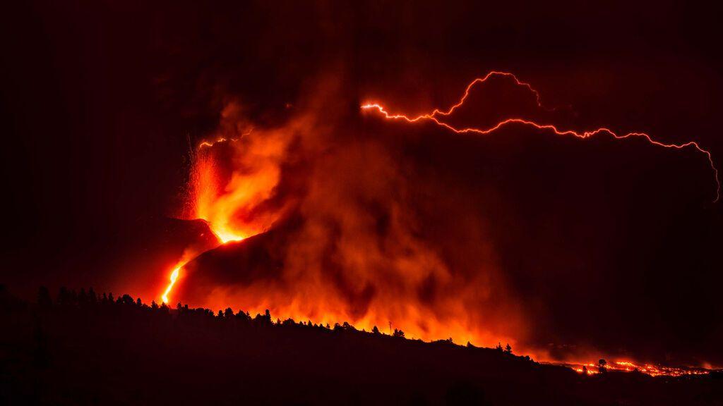 En directo: erupción del volcán de La Palma