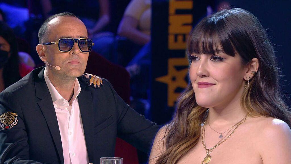 Alba Lucía (OT) se reencuentra con Risto Mejide