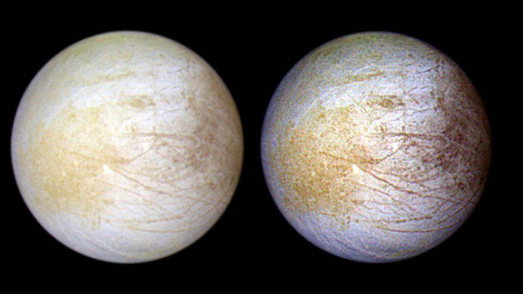 Evidencia de vapor de agua persistente en Europa, la luna helada de Júpiter