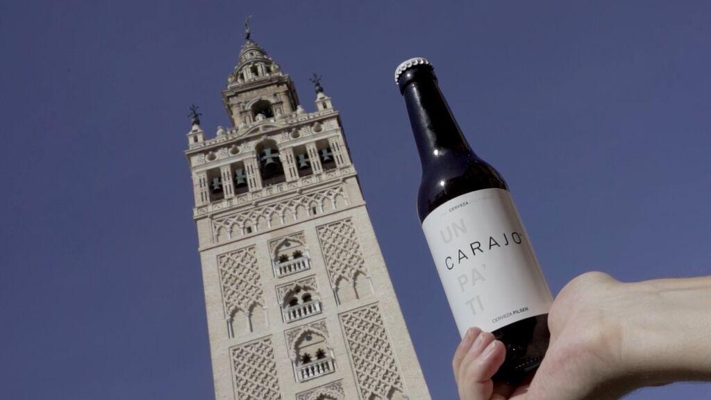 """Nace la cerveza """"andalucista"""" del 'Carajo' para """"hermanar Sevilla y Cádiz"""""""