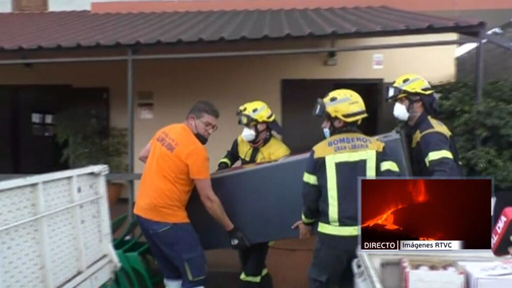 Los últimos desalojos en La Palma: La Laguna queda desierta