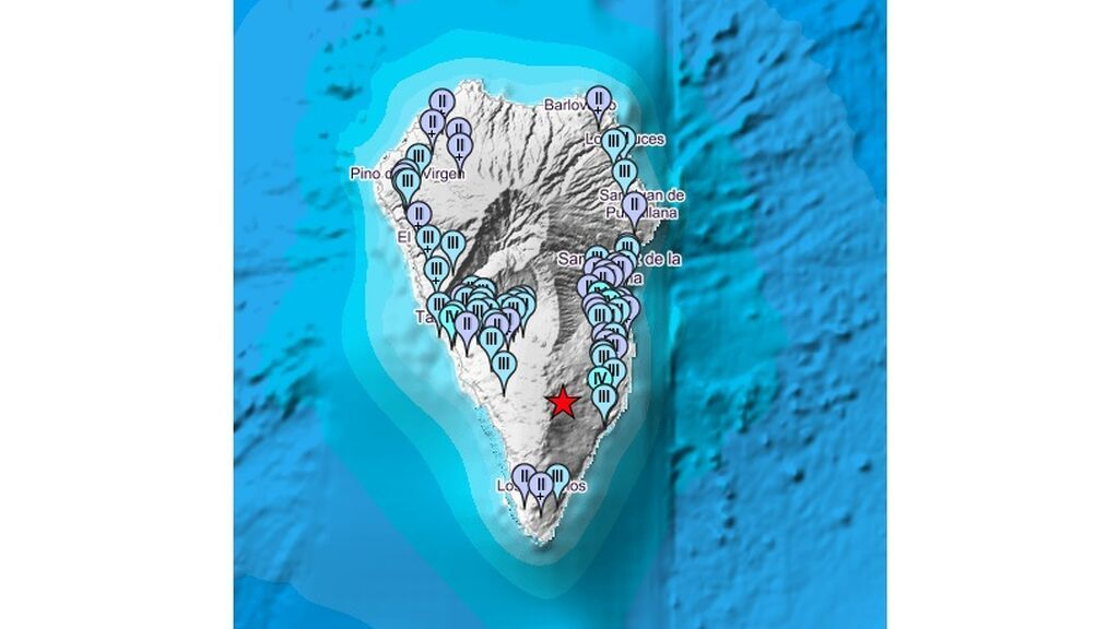 La Palma repite un seísmo de 4,5 grados, el de mayor magnitud hasta ahora