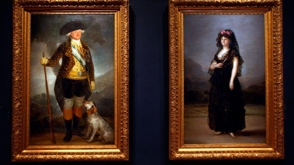 Los cuadros de Goya de Carlos IV y María Luisa de Palma son propiedad del Estado, según la Audiencia de Madrid
