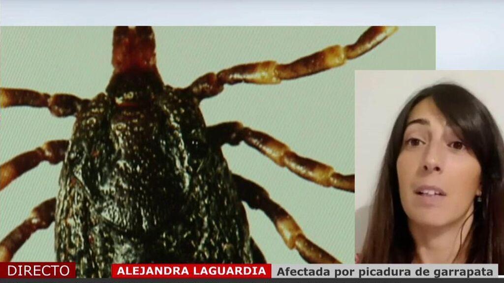 El escalofriante testimonio de Alejandra, afectada por picadura de garrapatas