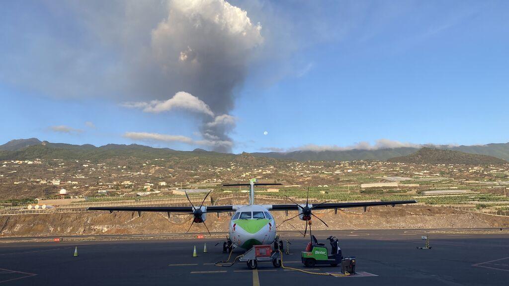 Imágenes de la erupción del volcán de La Palma, sábado 16 de octubre