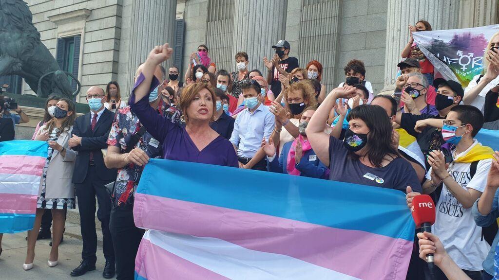 """Plataforma Trans pide la destitución de Calvo como presidenta de la Comisión de Igualdad por su discurso """"hostil"""""""